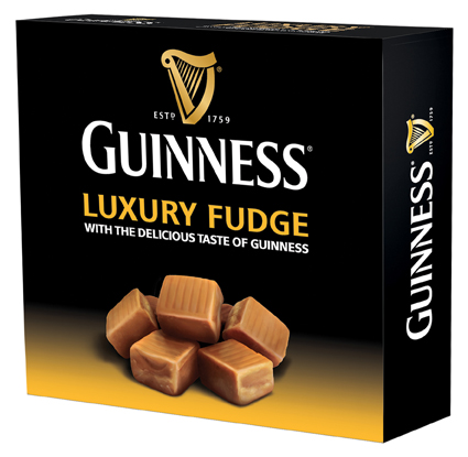 Guinness Luxury Fudge Box 170gm - Click Image to Close