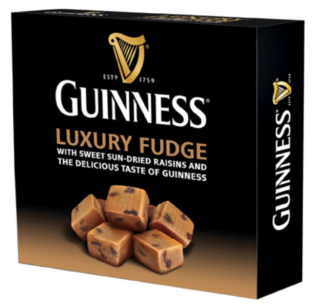 Guinness Luxury Fudge with Sun Dried Raisins - 170gm