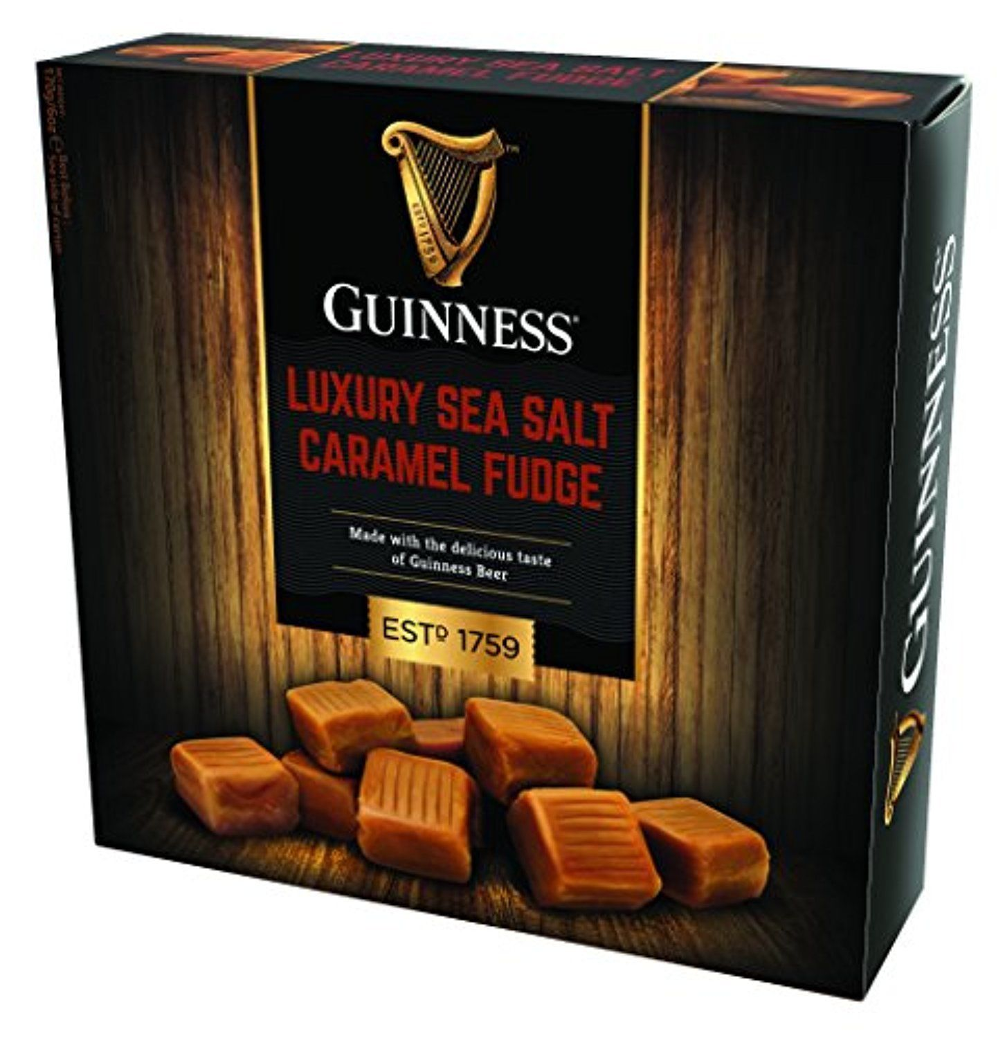 Guinness Luxury Sea Salt Caramel Fudge (170g/6.2 oz)