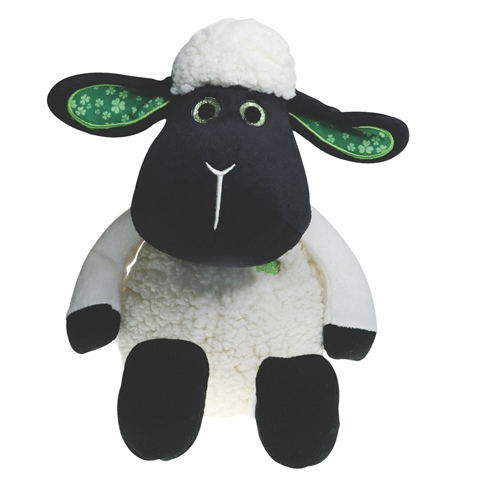 """Daisy"" The Black Faced Sheep with Sparkle Eyes (8"" & 10"")"