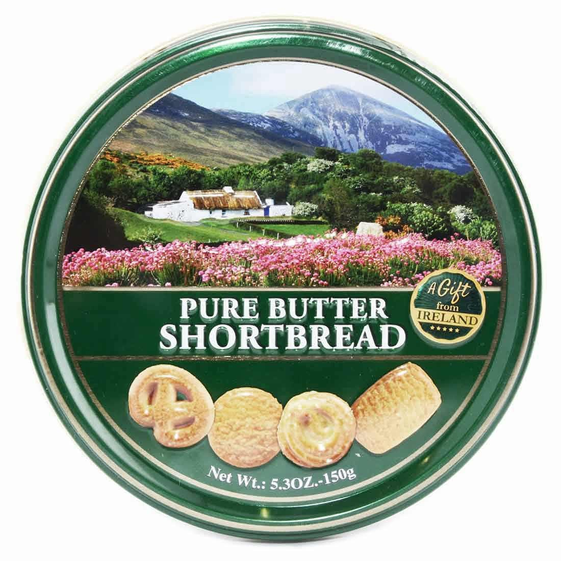"Pure Butter Shortbread -150g- ""A Gift from Ireland"""