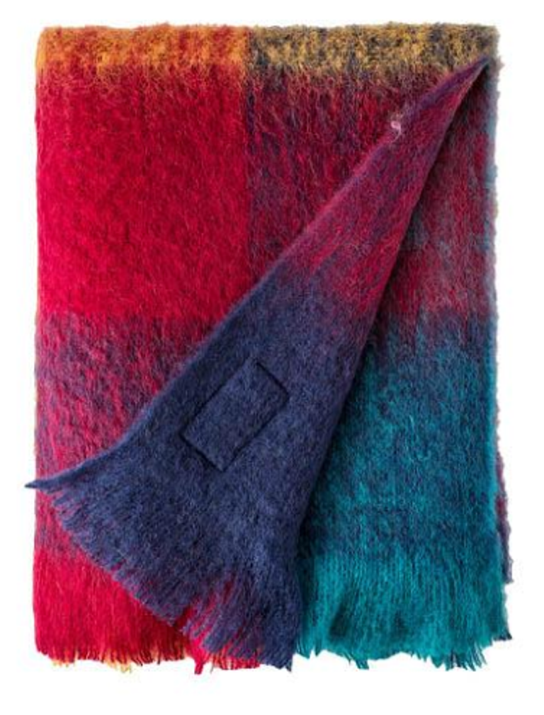 Avoca Mohair Throw - Harriet - Made in Ireland