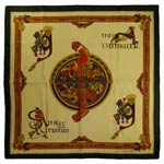 Book of Kells square scarf