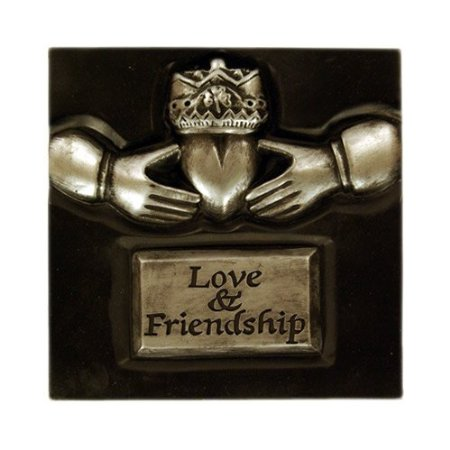 """Love & Friendship"" Claddagh Plaque by Claddagh Crafts"