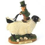 "Close Shave – Finnians Irish Figurines 6"" high."