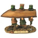 "Hitchin A Ride – Finnians Irish Figurines (4.75"" high)"