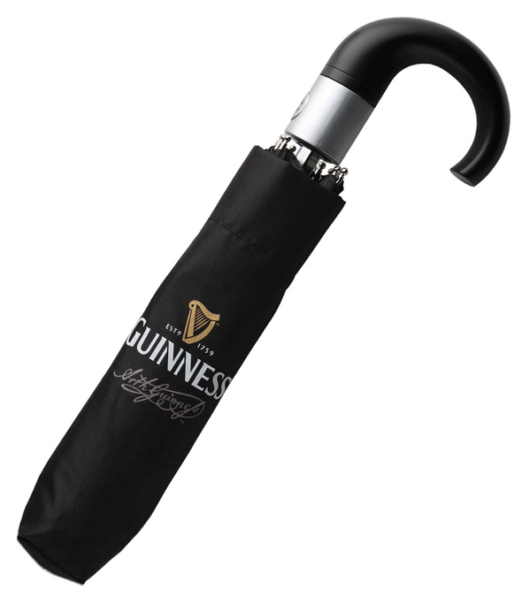 Guinness Men's fold up umbrella - Click Image to Close