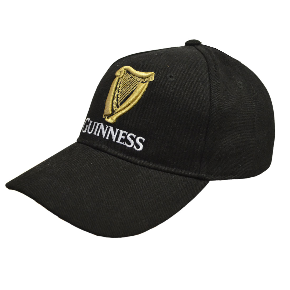 Guinness Black Harp Baseball Hat (one size) - Click Image to Close