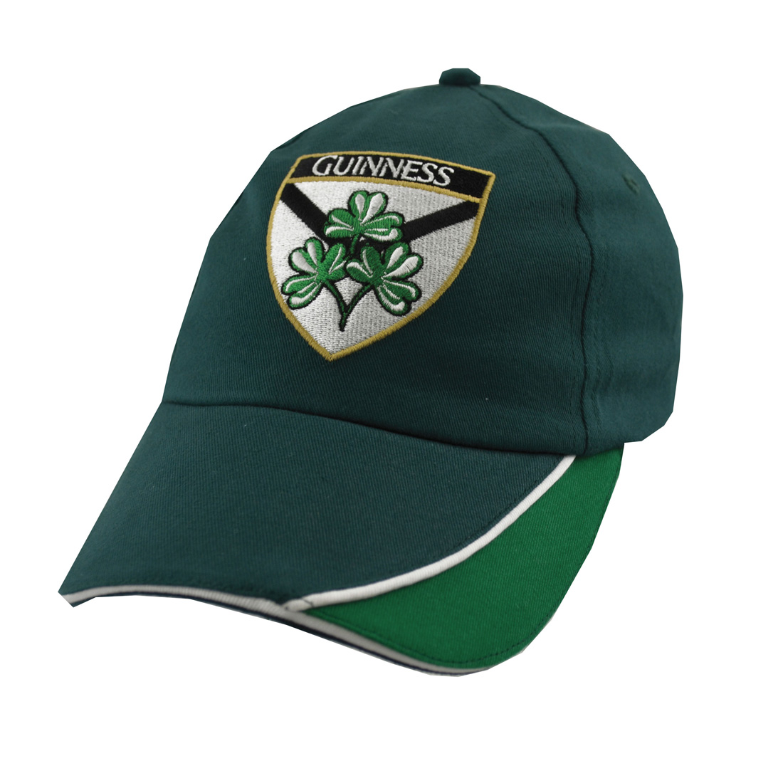 Green Guinness Shamrock Baseball Hat