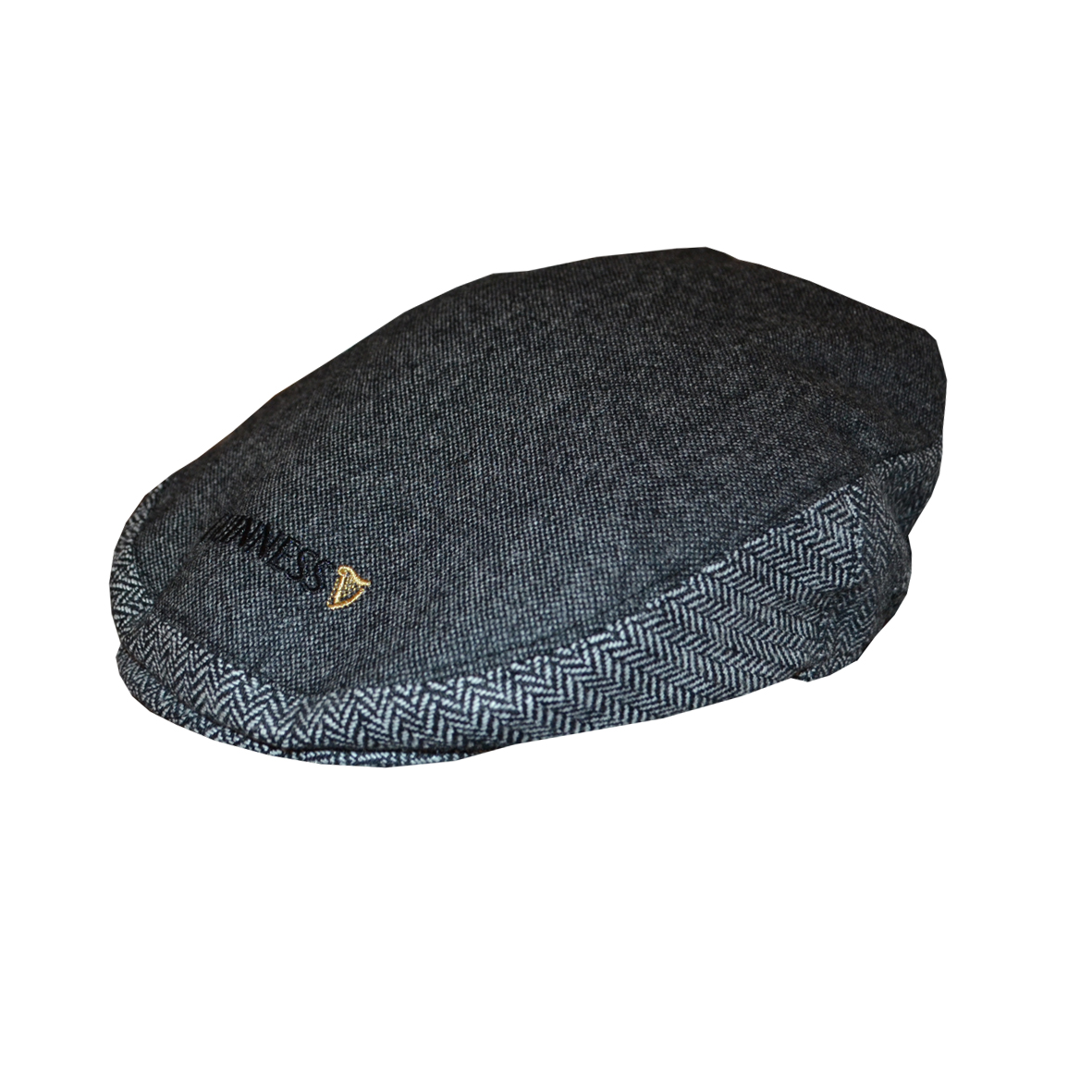 Guinness Grey Tweed Flat Cap (Medium & Large)