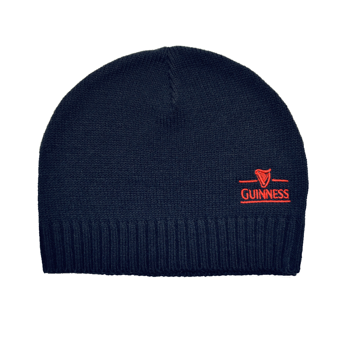 Guinness Harp Knit Hat - One Size NAVY - Click Image to Close