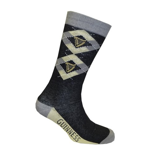 Guinness Argyle Check Socks