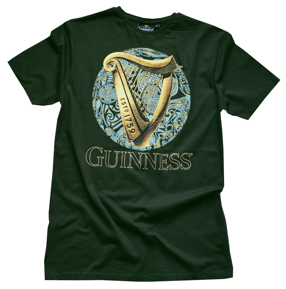 Bottle Guinness Harp/Celtic T Shirt (S-XXL)