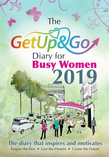 "The ""Get Up and Go"" Diary fo Busy Women 2019"