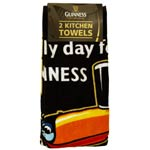 2 Guinness Kitchen Towels – toucan design