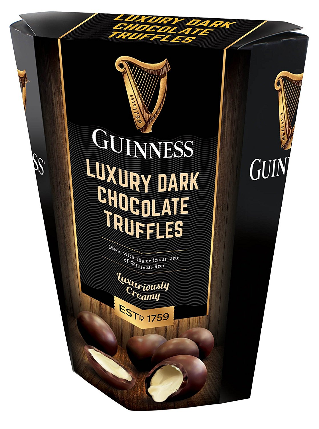 Guinness Luxury Chocolate Truffles (135gm) - Click Image to Close