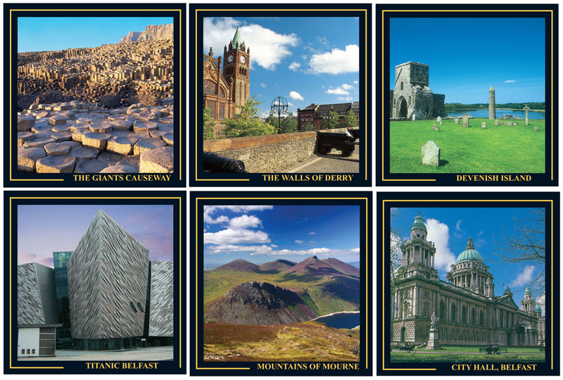 Northern Ireland's gifts - Coasters