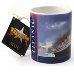 Painted Titanic Mug