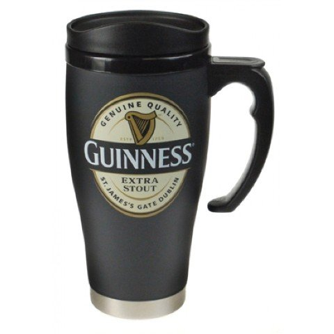 Guinness Large Label travel mug