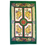Celtic tea towel