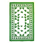 Shamrocks tea towel