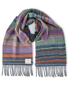 Avoca 100% Lambswool Scarf (Made in Ireland) Lucy design
