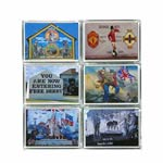 Northern Ireland six pack wall mural magnets