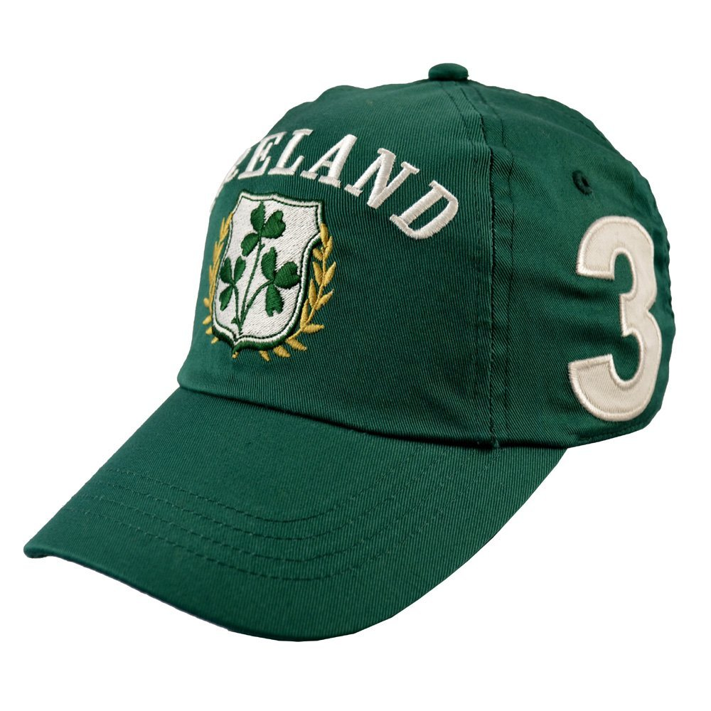 bf8cd9cf872 Bottle Ireland Shamrock Crest Baseball Cap