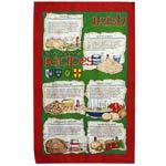 Irish Recipies tea towel