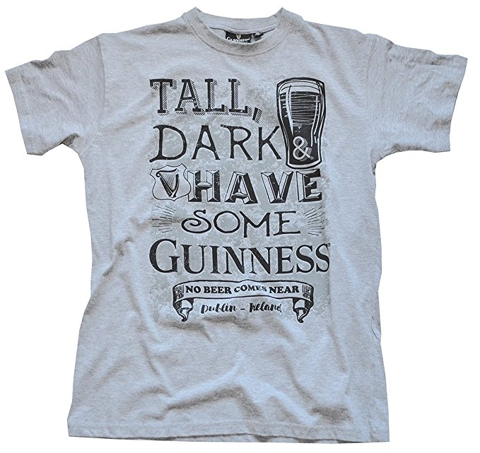 Grey Tall Dark T-shirt