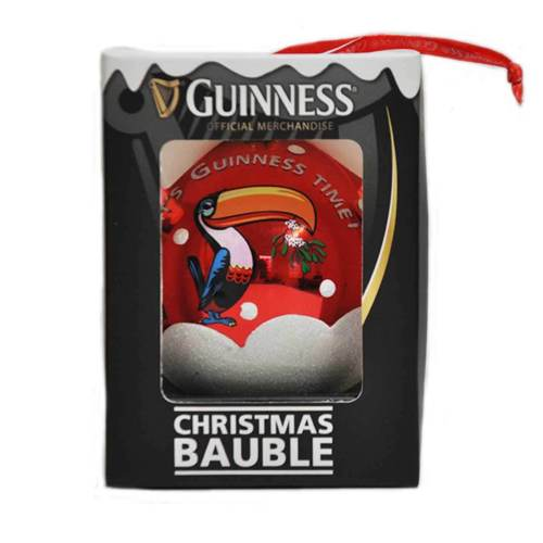 Guinness Christmas Bauble – Toucan - Click Image to Close