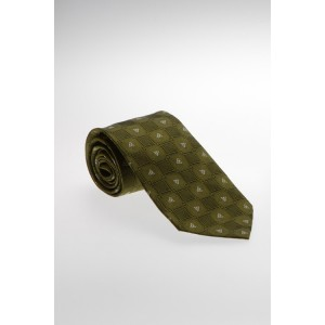 Green Celtic Silk Patrick Francis Tie