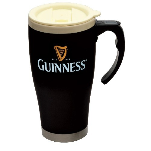 Large travel mug from Guinness