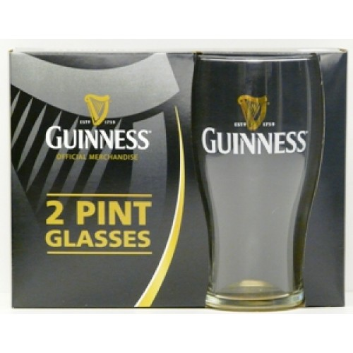 Guinness 2 Pack Pint Glasses
