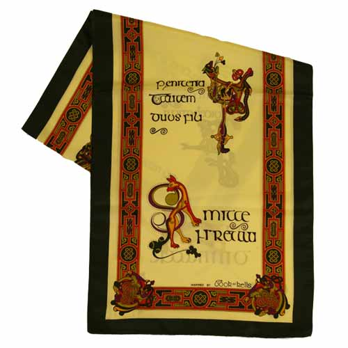 Book of Kells long scarf - Click Image to Close