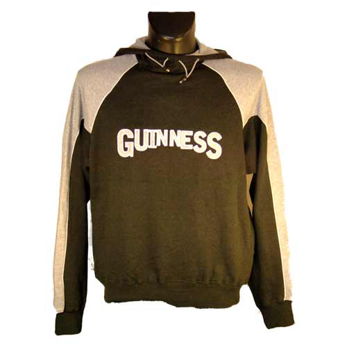 Grey Hooded Guinness Jacket - Click Image to Close