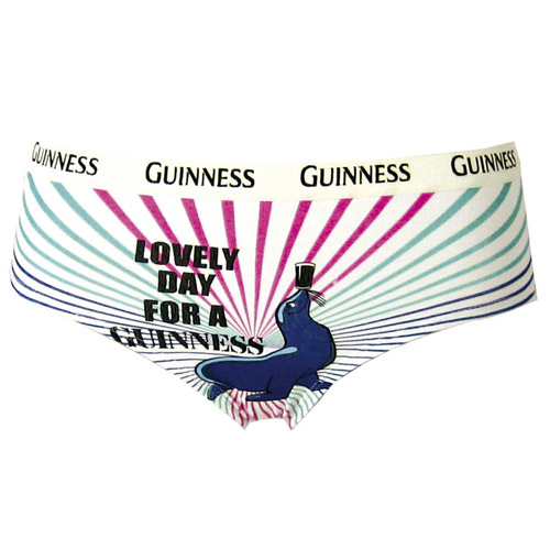 Lovely Day for a Guinness Ladies briefs - Click Image to Close