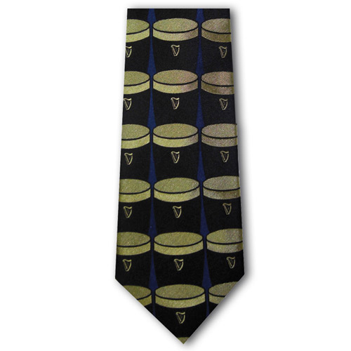 Patrick Francis Wine Guinness Tie - Click Image to Close