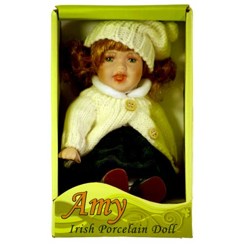 Amy Irish porcelain doll - Click Image to Close