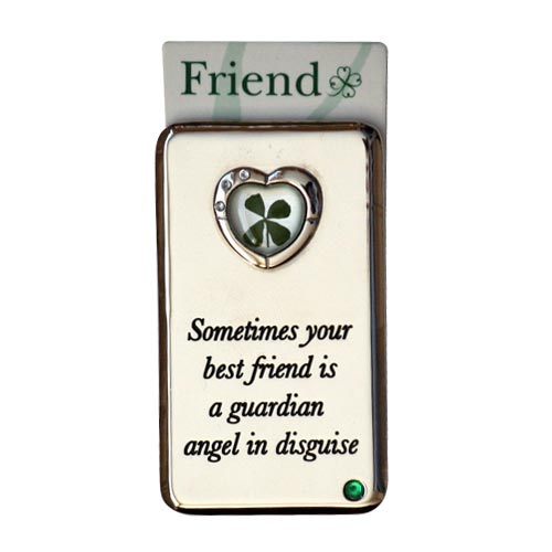 Lucky Irish fridge magnet – Sometimes your best friend... - Click Image to Close