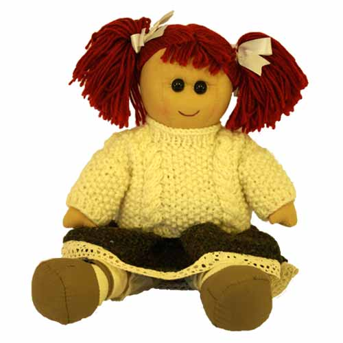 Annie Irish rag doll - Click Image to Close