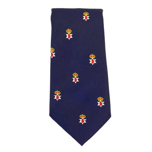 Northern Ireland/Ulster insignia - Blue - Ulster Neck Tie - Click Image to Close