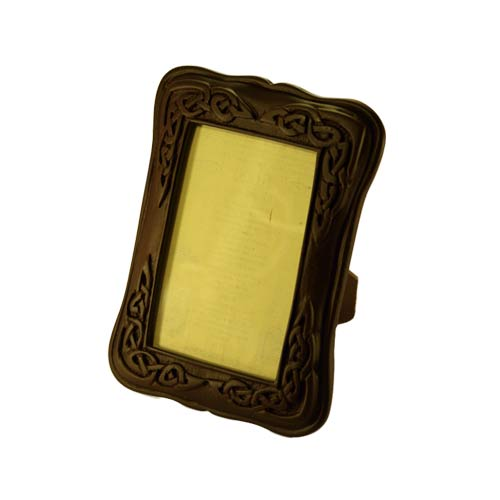 Black Celtic Turf Picture Frame - small - Click Image to Close