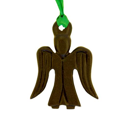 Angel - Irish turf christmas tree decoration - Click Image to Close