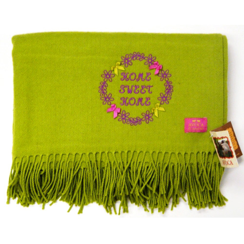 Avoca pure wool rug – Sweet Home Lime - Click Image to Close