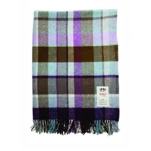 "Lambswool Throw - WR122 (56"" x 40"" & 56"" x 72"") Made In Ireland - Click Image to Close"