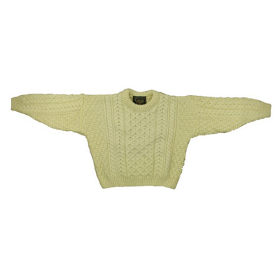 Kids knitted Aran Wooly Sweater