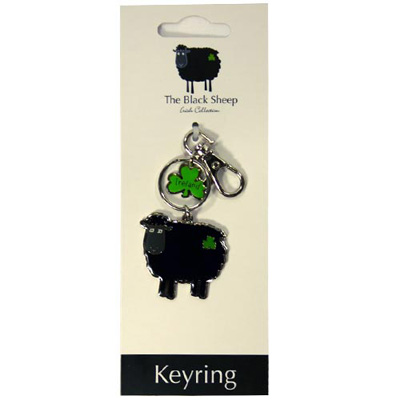 Black sheep keyring 750 traditional irish for Irish jewelry stores in nj