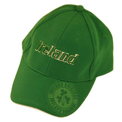 Emerald Ireland Badge Green Baseball Cap