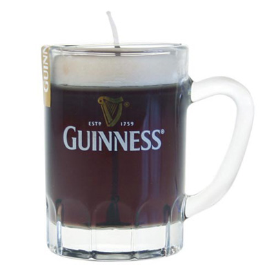 Guinness Tankard Candle
